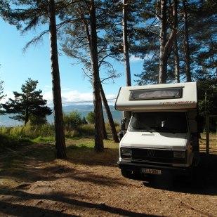 Stellplatz am See in den Picos de Europa