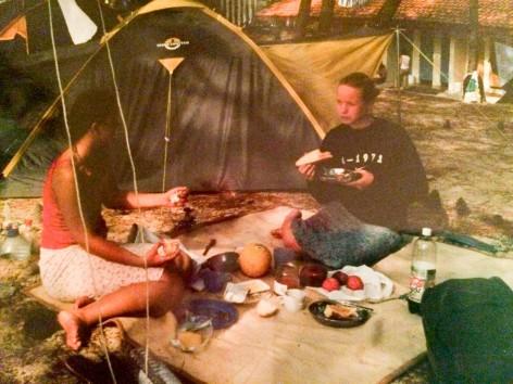 Camping am Atlantik