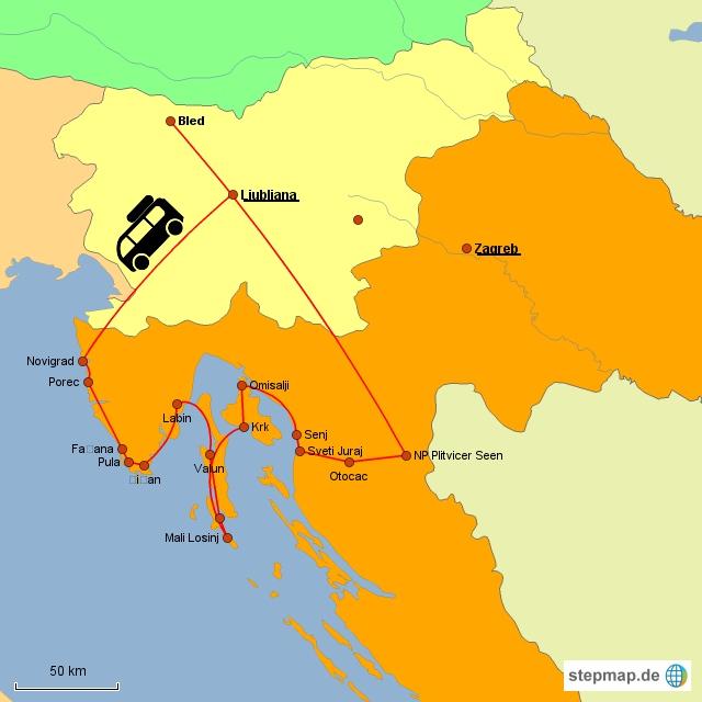 Fazit: Kroatiens Norden im September2016
